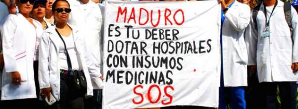 Denuncian éxodo de médicos en Venezuela