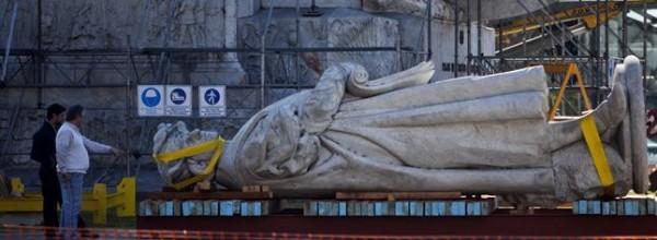 """""""El Colón de la estatua es un símbolo de todos los inmigrantes italianos"""""""